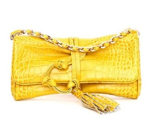 blugirl-clutch-yellow